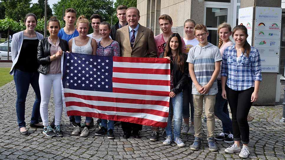 Erneut wird eine Dortmunder Schülergruppe in die US-Partnerstadt nach Buffalo aufbrechen. Foto: AGNRW
