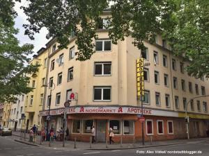 Die Stadt hat das Ladenlokal der ehemaligen Apotheke am Nordmark gekauft.