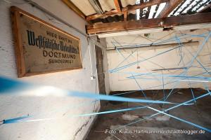 """Sommerformat """"Garage"""" im Künstlerhaus geht an den Start. Kunstaktion von Willeke van Ravenhorst aus den Niederlanden."""