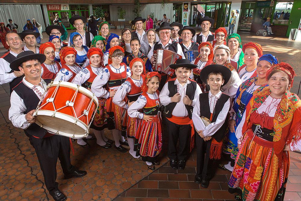Portugiesische Folkloregruppe St. Antonius im Dietrich-Keuning-Haus