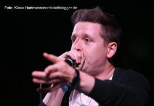 Schick und Schäbig im Zirkuszelt am Dietrich-Keuning-Haus. Kevin O Neal (Deutscher Beatbox Meister)
