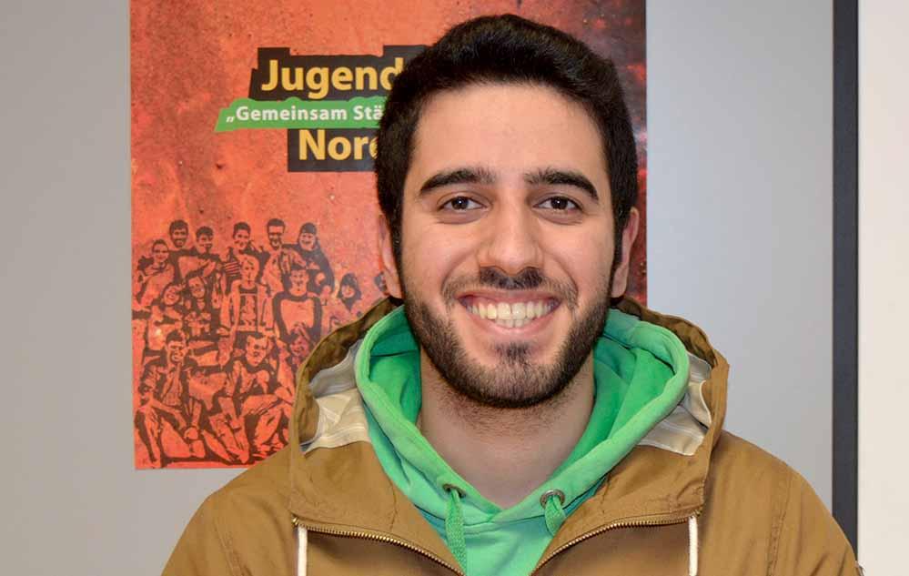 Der 20-jährige Abiturient Zana Yekta ist auch Sprecher des Jugendforums Nordstadt.