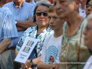 Gedenken an den Jahrestag des Atombomben-Abwurfes auf Japan vor siebzig Jahren