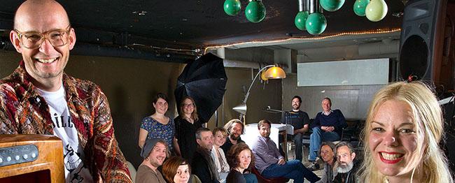 Ekamina im Sissikingkong: Musikalische und literarische Abende am elektrischen Kamin in der Nordstadt