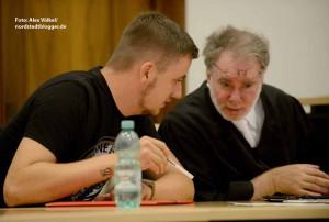 Lukas B. mit seinem Verteidiger André Picker.
