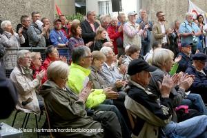 Gedenkstunde zum Antikriegstag im Innenhof der Steinwache