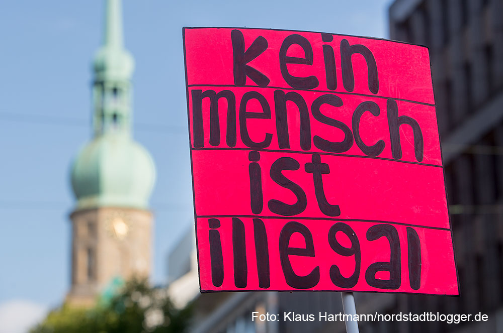 Demonstration am 26. September: Solidarität mit ALLEN Geflüchteten, Refugees Welcome Dortmund