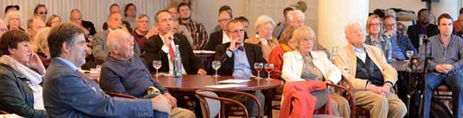 Sehr gut besuchte Podiumsdiskussion im Dortmunder Rathaus: TTIP und CETA – Was kommt die auf Kommunen zu?