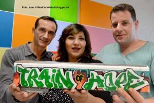 Justo Moret, Fatma Karacakurtoglu und Cem Eroglu wurde bei der Gründung zum Führungstrio gewählt.