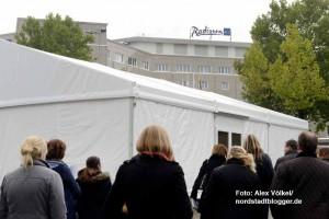 Das Radisson Blu-Hotel war in alle Planungen für die EAE einbezogen.