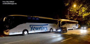 Weil das Parken im Busbahnhof schon jetzt zu teuer ist, suchen sich Busfahrer andere Kreuz- und Langzeitparkplätze.