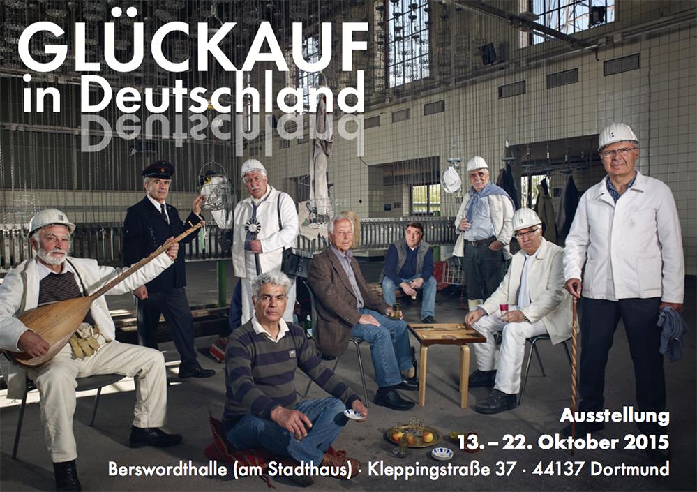 """Ausstellung """"Glückauf in Deutschland"""" thematisiert die Dortmunder Migrations- und Bergbaugeschichte"""