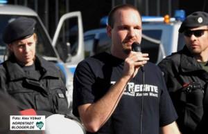 """Sascha Krolzig ist Vorsitzender der Partei """"Die Rechte"""" in Hamm."""