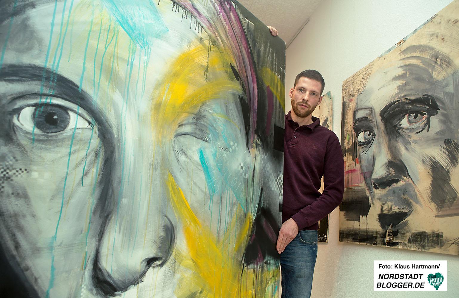Kirian stellt in der Galerie kunstbetrieb aus