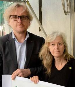 Ulrich Langhorst und Ingrid Reuter sind die Fraktionssprecher der Grünen.