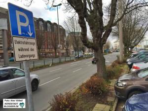 47 öffentliche Ladeeinrichtungen für jeweils zwei Fahrzeuge gibt es im Stadtgebiet.