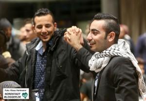 Ausgelassene Stimmung bei der Benefiz-Veranstaltung für Flüchtlinge zu Weihnachten im DKH