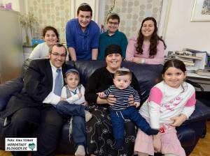 Eine glückliche Familie - weitere Kinder sind nicht ausgeschlossen.