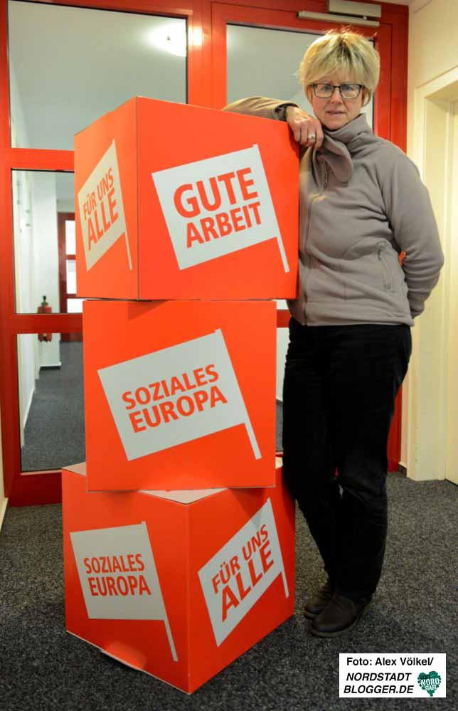 Die Dortmunder DGB-Vorsitzende Jutta Reiter betont, dass Gewerkschaften sich immer neu erfinden müssen.