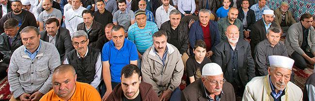 Die Eyüp Sultan Moschee des türkischen Kulturverein Dortmund und Umgebung e.V. ist mehr als nur Gebetsraum
