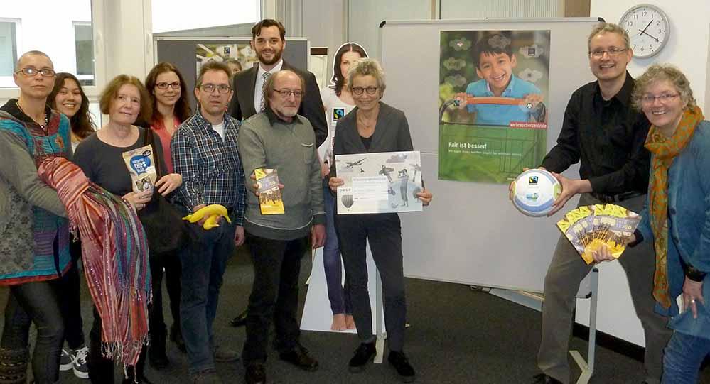 Ein breites gesellschaftliches Bündnis engagiert sich in Dortmund für Fairen Handel. Foto: Stadt DO