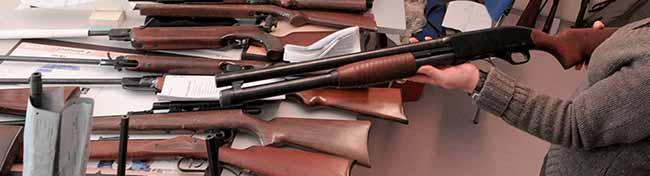 Neues Waffenrecht ermöglicht die straffreie Abgabe illegal besessener Waffen und Munition bei der Polizei