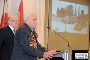 David Dushman (92) gehörte zu den sowjetischen Soldaten, die das KZ Auschwitz-Birkenau befreiten.