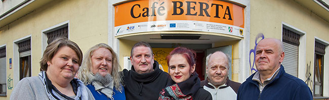 Agnieszka Fach ist das neue Gesicht im Café Berta – Der Trinkraum in der Nordstadt ist wieder in ruhigem Fahrwasser