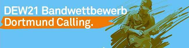 """DEW21-Bandwettbewerb """"Dortmund Calling"""" geht am Wochenende mit zehn Gruppen in die nächste Runde"""