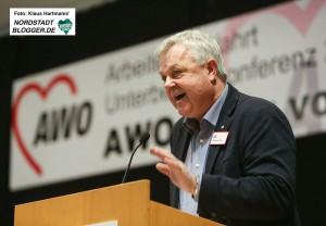 AWO Bezirkskonferenz 2016 in der Alten Schmiede in Dortmund-Huckarde. Andreas Gora