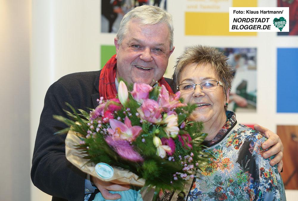 AWO Bezirkskonferenz 2016 in der Alten Schmiede in Dortmund-Huckarde. Andreas Gora und Gerda Kieninger