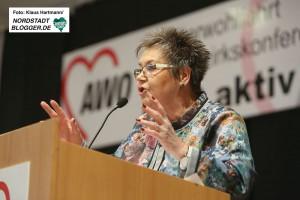 AWO Bezirkskonferenz 2016 in der Alten Schmiede in Dortmund-Huckarde. Gerda Kieninger