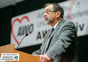 Michael Scheffler, Bezirksvorsitzender der AWO Westliches Westfalen.