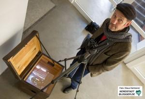 Videoausstellung: Keine Zeit, im Künstlerhaus. Johannes Gramms Arbeit: Failed Marian appararition