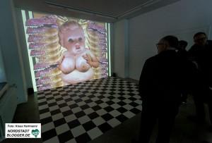 Videoausstellung: Keine Zeit, im Künstlerhaus. Heidi Hörsturz, Sex Trashart Attacks! Cybercat Masturbation! Unicorn deconstruction