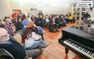 Vortrag und Diskussion: Fluchtursachen von jungen Afrikanern in der Auslandsgesellschaft. Die Veranstaltung war sehr gut besucht
