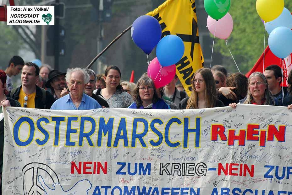 Der Ostermarsch Rhein-Ruhr findet erneut an drei Tagen statt. Archivbild: Alex Völkel