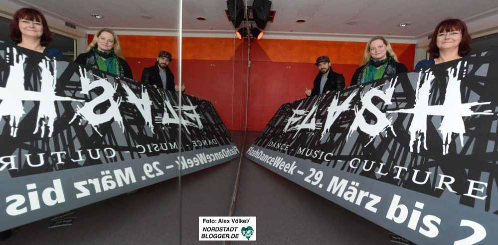 """Die erste """"Flash Dance Week"""" findet vom 29. März bis 1. April im DKH statt. Foto: Alex Völkel"""