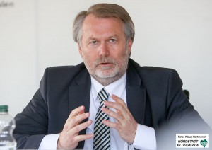 Vorstellung der Kriminalstatistik Polizei-Präsidium Dortmund. Leiter Direktion Kriminalität, Jürgen Kleis
