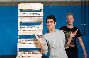 Die Proben für neue Projekt der TheaterWerkstatt am Westfalen-Kolleg läuft auf Hochtouren. Foto: WK