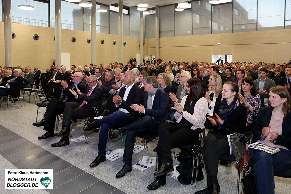 Feierliche Eröffnung der Berufskollegs am Dortmunder U. Oberbürgermeister Ullrich Sierau
