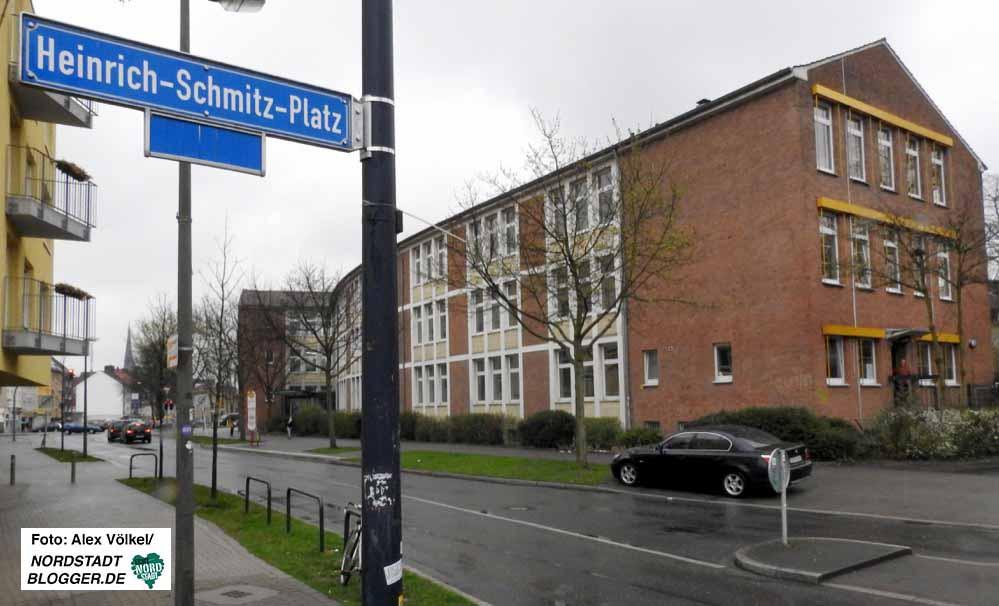 Im Gebäude der ehemaligen Hauptschule Innenstadt-West baut die Stadt ein neues Bildungszentrum auf.