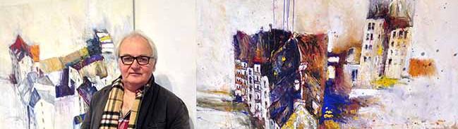 """Foto-/Video-Update: Künstler Günter Rückert zeigt ab Sonntag seine """"Nordstadt""""-Bilder in der Galerie Torhaus Rombergpark"""