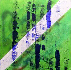Ausstellung: Friday on my mind von Hartmut F. K. Gloger in der Galerie Fischer im Depot. Bild: Spuren