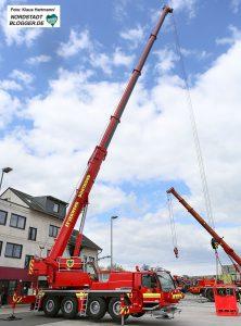 Dortmunder Feuerwehr übt mit Kollegen aus anderen Städten den Einsatz neuer Kranwagen