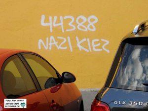Auch in Lütgendortmund finden sich viele Nazi-Kiez-Tags. Foto: Alex Völkel