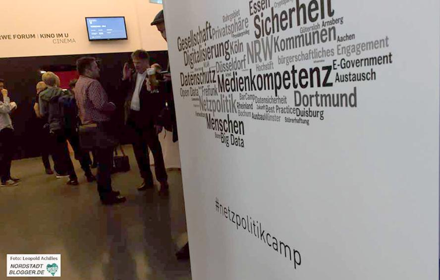 """Im Dortmunder U fand das Netzpolitik-Camp zum Thema """"Freifunk"""" statt."""