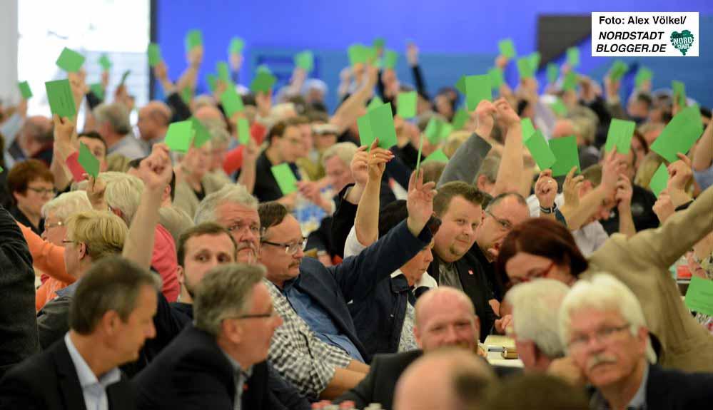 Der SPD-Unterbezirksparteitag votierte für eine Verkleinerung des Vorstandes.