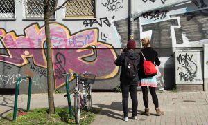 Die Urbanisten laden zum ersten Street Art Bingo im Union-Viertel ein. Foto: Urbanisten