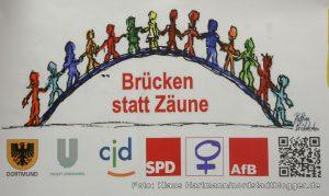 Aktion, Brücken statt Zäune des fFB, Arbeitsgemeinschaft für Bildung im SPD Unterbezirk Dortmund